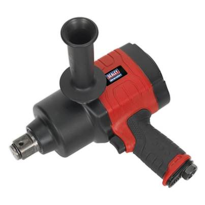 "Sealey Tools Air Impact Wrench 1""Sq Drive Twin Hammer"