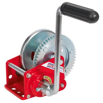 Sealey Tools Geared Hand Winch with Brake 540kg Capacity