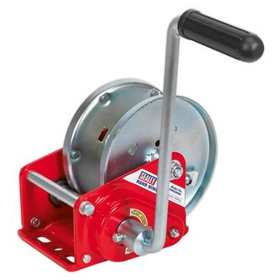 Sealey Tools Geared Hand Winch with Brake 900kg Capacity
