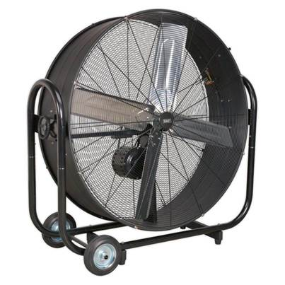 "Sealey Tools Industrial High Velocity Drum Fan 42"" Belt Drive 230V"