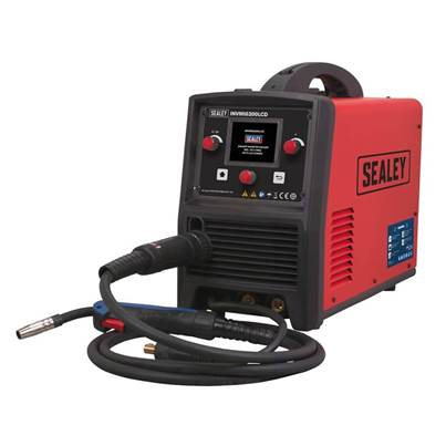 Sealey Tools Inverter Welder MIG, TIG & MMA 200Amp with LCD Screen