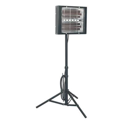 Sealey Tools Infrared Quartz Heater - Tripod Mounted 3000W/230V