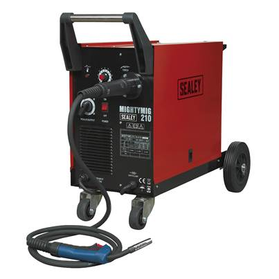 Sealey Tools Professional Gas/No-Gas MIG Welder 210Amp with Euro Torch