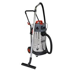 Vacuum Cleaner Industrial Dust-Free Wet/Dry 38L 1500W/230V Stainless Steel Drum M Class Filtration