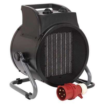 Sealey Tools Industrial PTC Fan Heater 5000W 415V 3ph