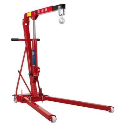 Sealey Tools Folding Engine Crane 1tonne Low Profile