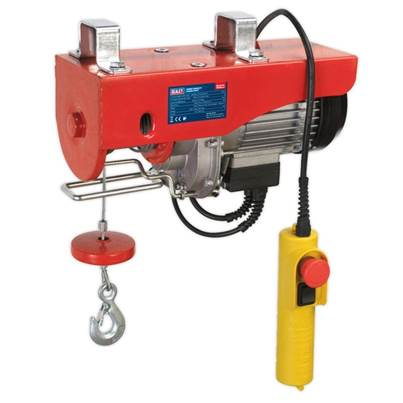 Sealey Tools Power Hoist 230V/1ph 400kg Capacity