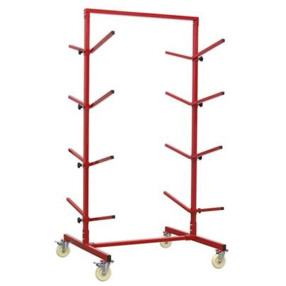 Sealey Tools Bumper Rack Double-Sided 4-Level