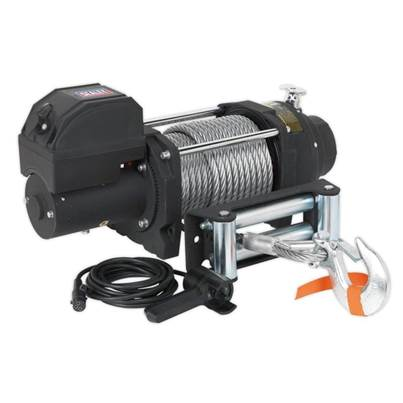 Sealey Tools Recovery Winch 8180kg (18000lb)Line Pull 12V Industrial