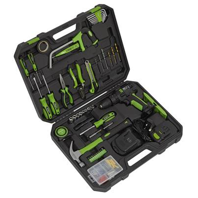 Sealey Tools Tool Kit with Cordless Drill 101pc