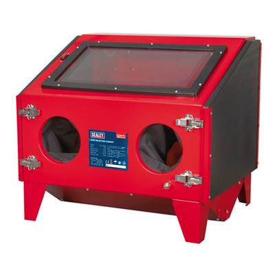 Sealey Tools Shot Blasting Cabinet Double Access 695 x 580 x 625mm