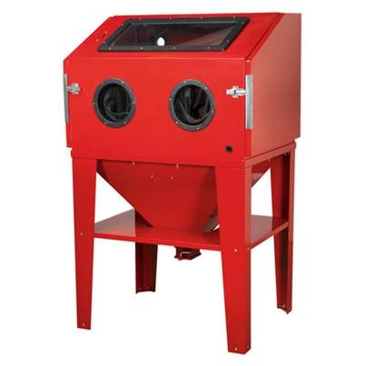 Sealey Tools Shot Blasting Cabinet Double Access 960 x 720 x 1500mm