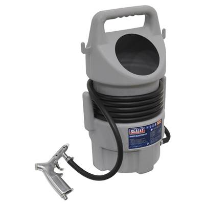 Sealey Tools Shot Blasting Kit 22kg Capacity