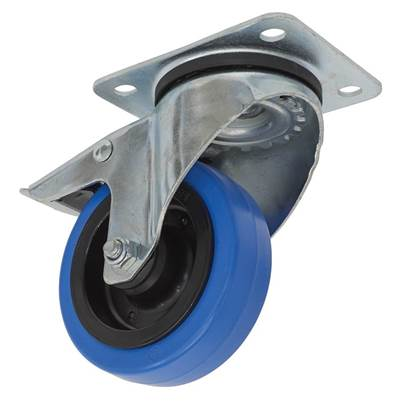 Sealey Tools Castor Wheel Swivel Plate with Total Lock Ø100mm