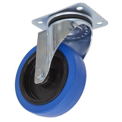 Sealey Tools Castor Wheel Swivel Plate Ø125mm