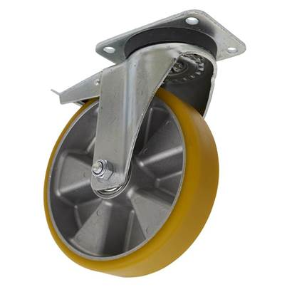 Sealey Tools Castor Wheel Swivel Plate with Total Lock Ø200mm