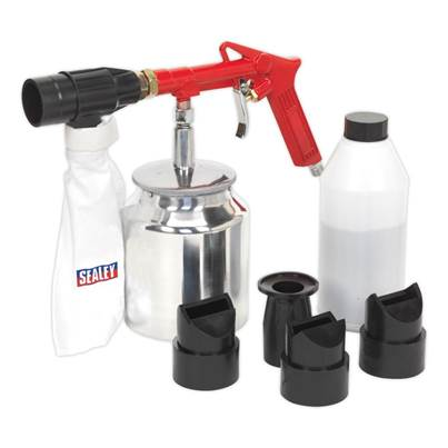 Sealey Tools Air Recirculating Economy Sandblasting Kit