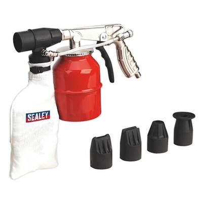 Sealey Tools Recirculating Sand Blasting Kit Extra Heavy-Duty
