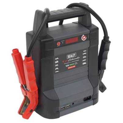 Sealey Tools Jump Starter Power Pack Lithium(LiFePO4) 800Amp