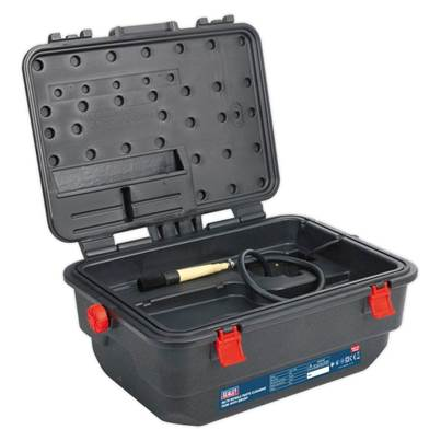 Sealey Tools Mobile Parts Cleaning Tank with Brush
