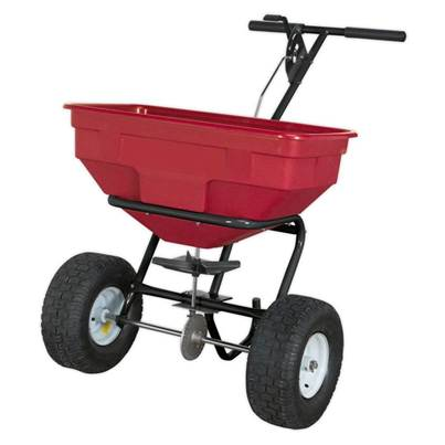 Sealey Tools Broadcast Spreader 57kg Walk Behind