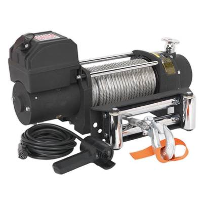 Sealey Tools Self Recovery Winch 4300kg (9500lb) Line Pull 12V