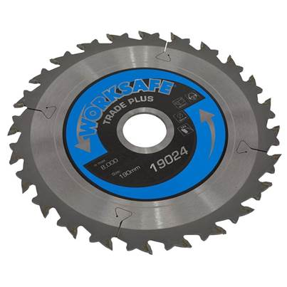 Sealey Tools Trade Plus Circular Saw Blade Ø190 x 30mm - 24tpu