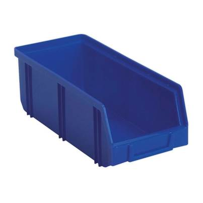 Sealey Tools Plastic Storage Bin Deep 105 x 240 x 85mm - Blue Pack of 28