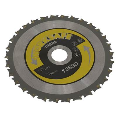 Sealey Tools Trade Circular Saw Blade Ø136 x 20mm - 30tpu