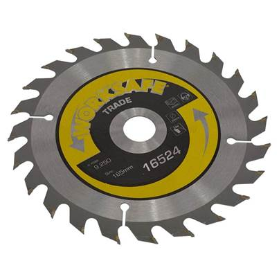 Sealey Tools Trade Circular Saw Blade Ø165 x 20mm - 24tpu