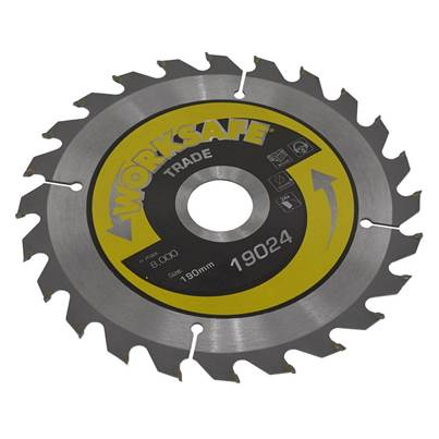Sealey Tools Trade Circular Saw Blade Ø190 x 30mm - 24tpu