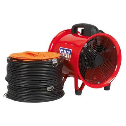 Sealey Tools Portable Ventilator Ø250mm with 5m Ducting