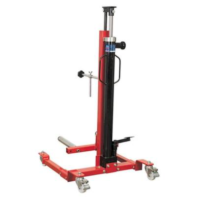 Sealey Tools Wheel Removal/Lifter Trolley 80kg Quick Lift