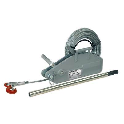 Sealey Tools Wire Rope Puller 1600kg Max Line Force