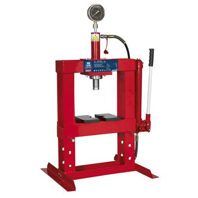 Sealey Tools Hydraulic Press 10tonne Bench Type