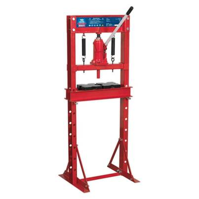 Sealey Tools Hydraulic Press 10tonne Economy Floor Type