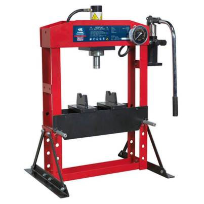 Sealey Tools Hydraulic Press Premier 15tonne Bench Type