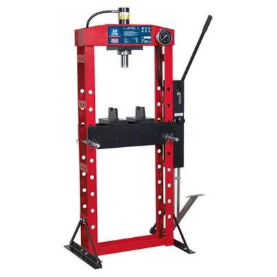 Sealey Tools Hydraulic Press Premier 20tonne Floor Type with Foot Pedal