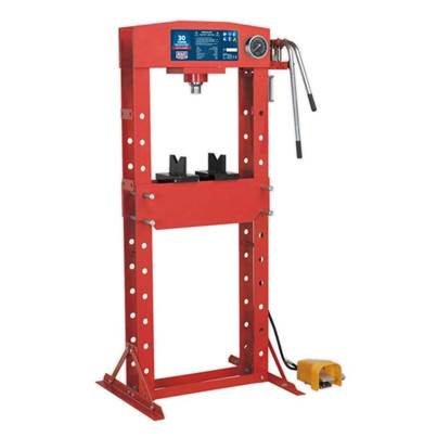 Sealey Tools Air/Hydraulic Press 30tonne Floor Type with Foot Pedal