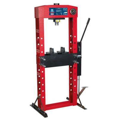Sealey Tools Hydraulic Press Premier 30tonne Floor Type with Foot Pedal