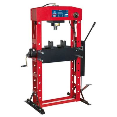 Sealey Tools Hydraulic Press Premier 50tonne Floor Type with Foot Pedal