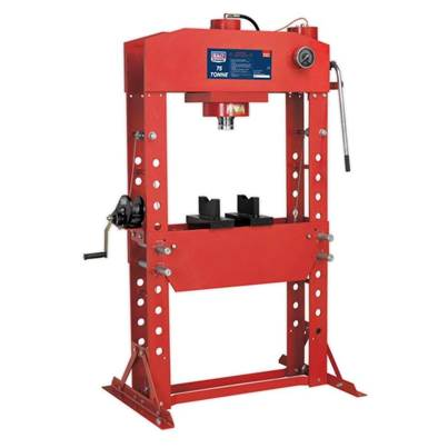 Sealey Tools Hydraulic Press 75tonne Floor Type